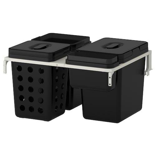 15 Ideeen Over Afval Scheiden Bakken Ikea Keukenkast Kasten Schoonmaken