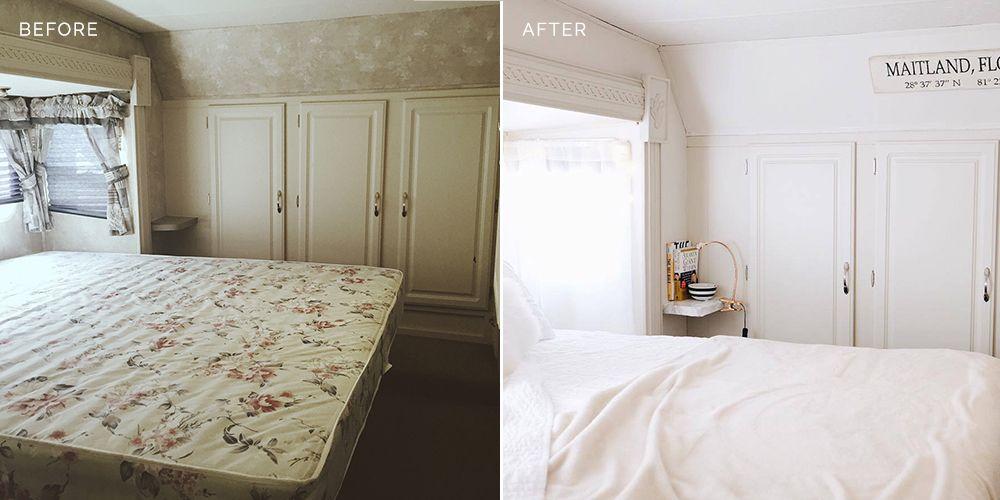 rv bedroom master update