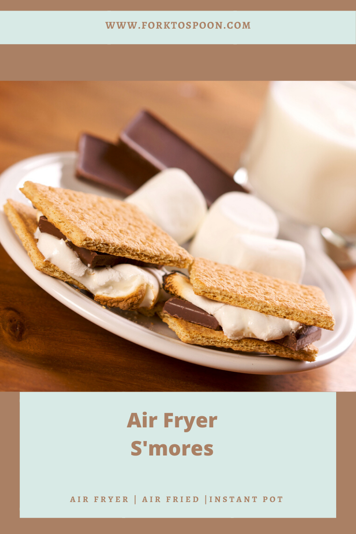 "Air Fryer""Grilled"" S'mores"