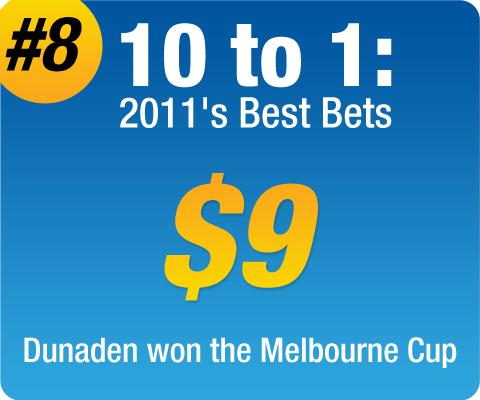 2011 Best Bets - #8 - Sportsbet.com.au