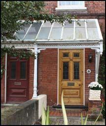 Canopies, Door Entrances & Porches - Georgian stone ...