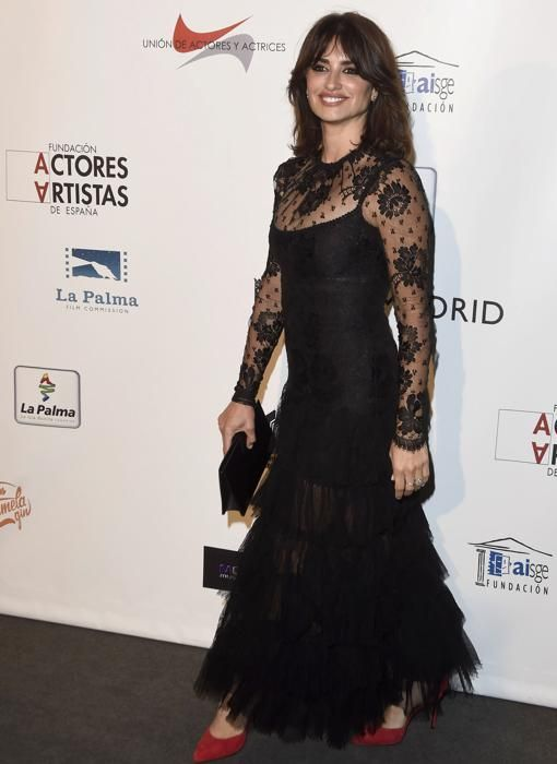 Penelope Cruz wearing Alessandra Rich at the Union of Actors Awards in Madrid