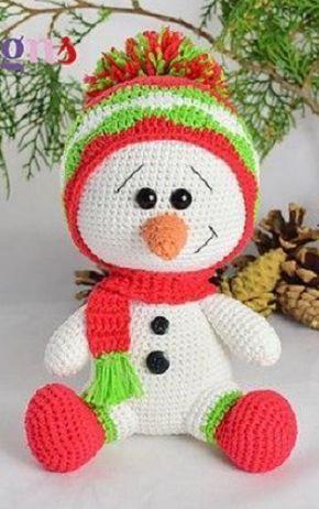 ⌘ Fяее Pаттеяи ⌘ | Amigurumi | Pinterest | Navidad, Patrones ...