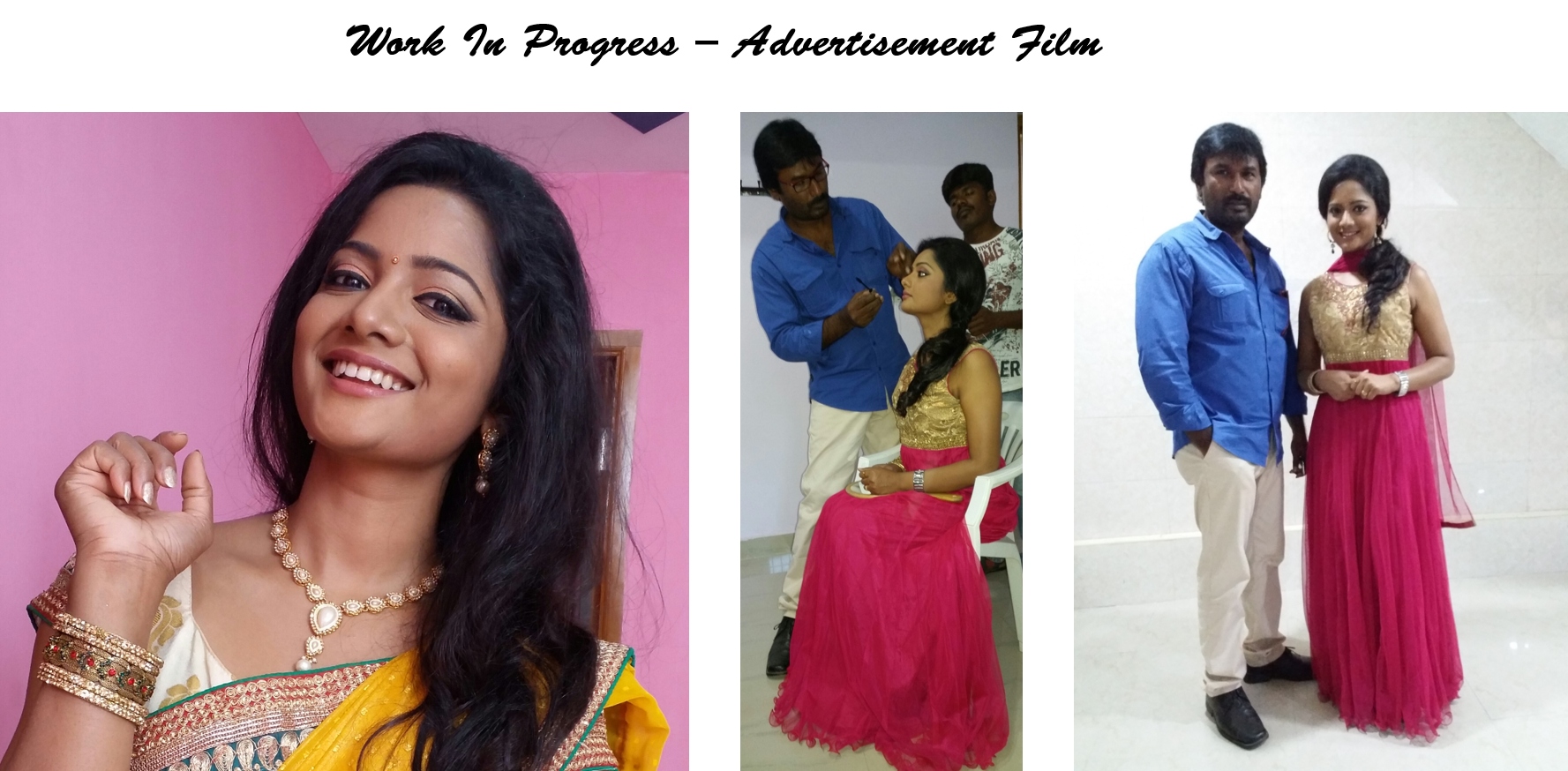 I am a Bridal Makeup Artist currently living in Chennai