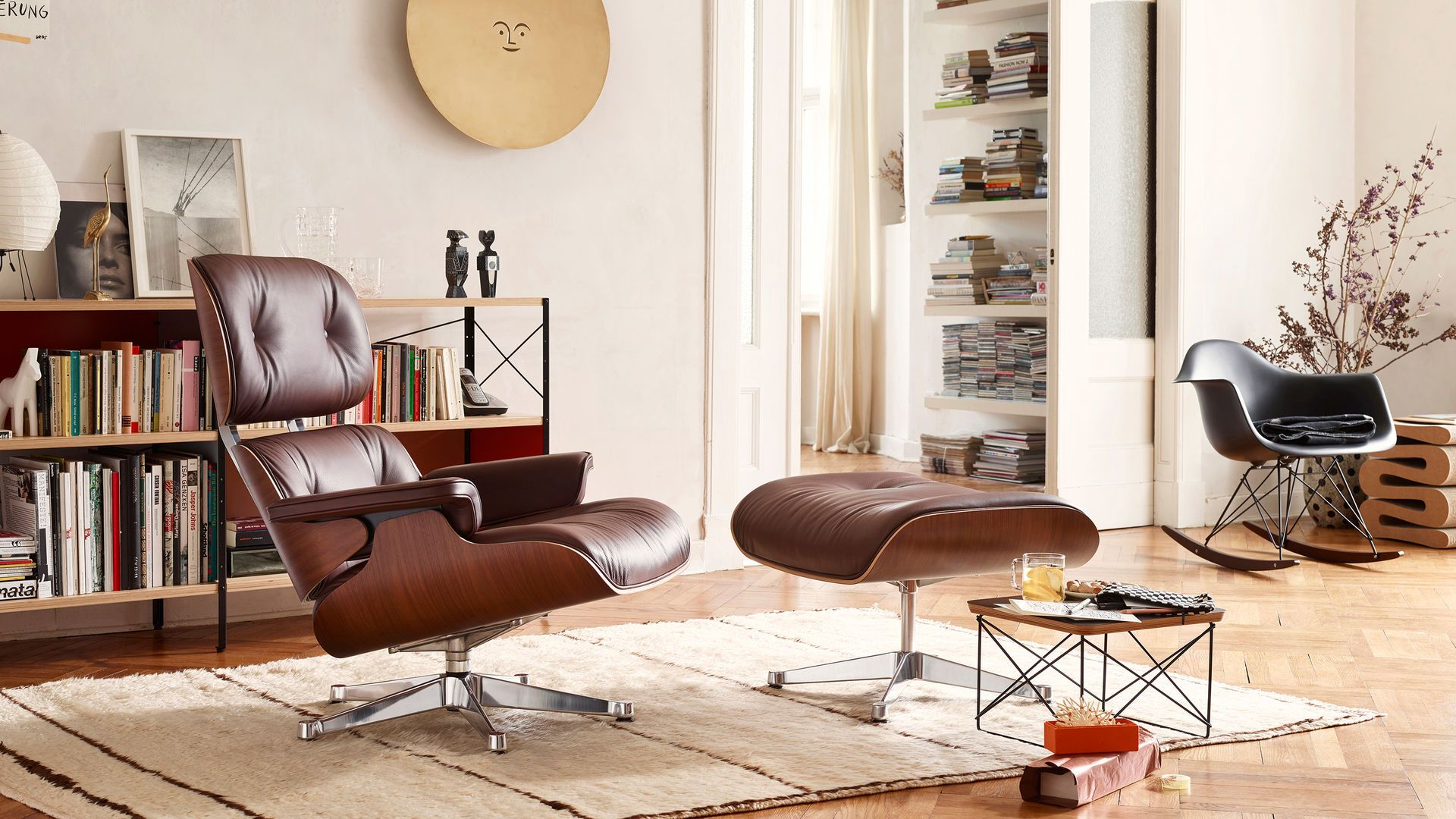 Lounge Sessel Eames Lounge Chair Ottoman Occasional Table Ltr Eames Plastic Armchair