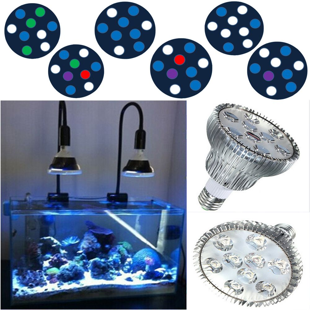 27w full spectrum led aquarium light par38 bridgelux led aquarium light fixture e27 marine aquarium led lighting for fish reef affiliate