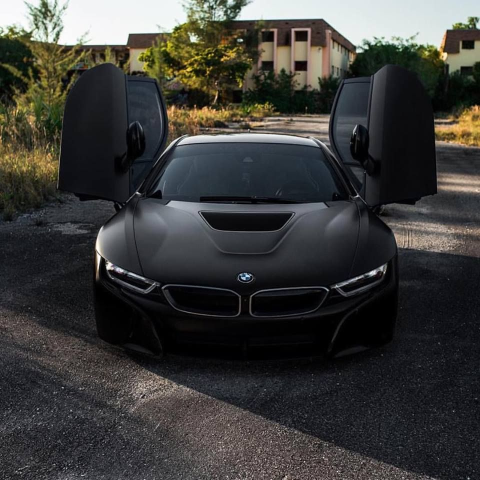 Bmw I8 Coupe Black Pearl Edrive Provocative Sexy Hot Burn