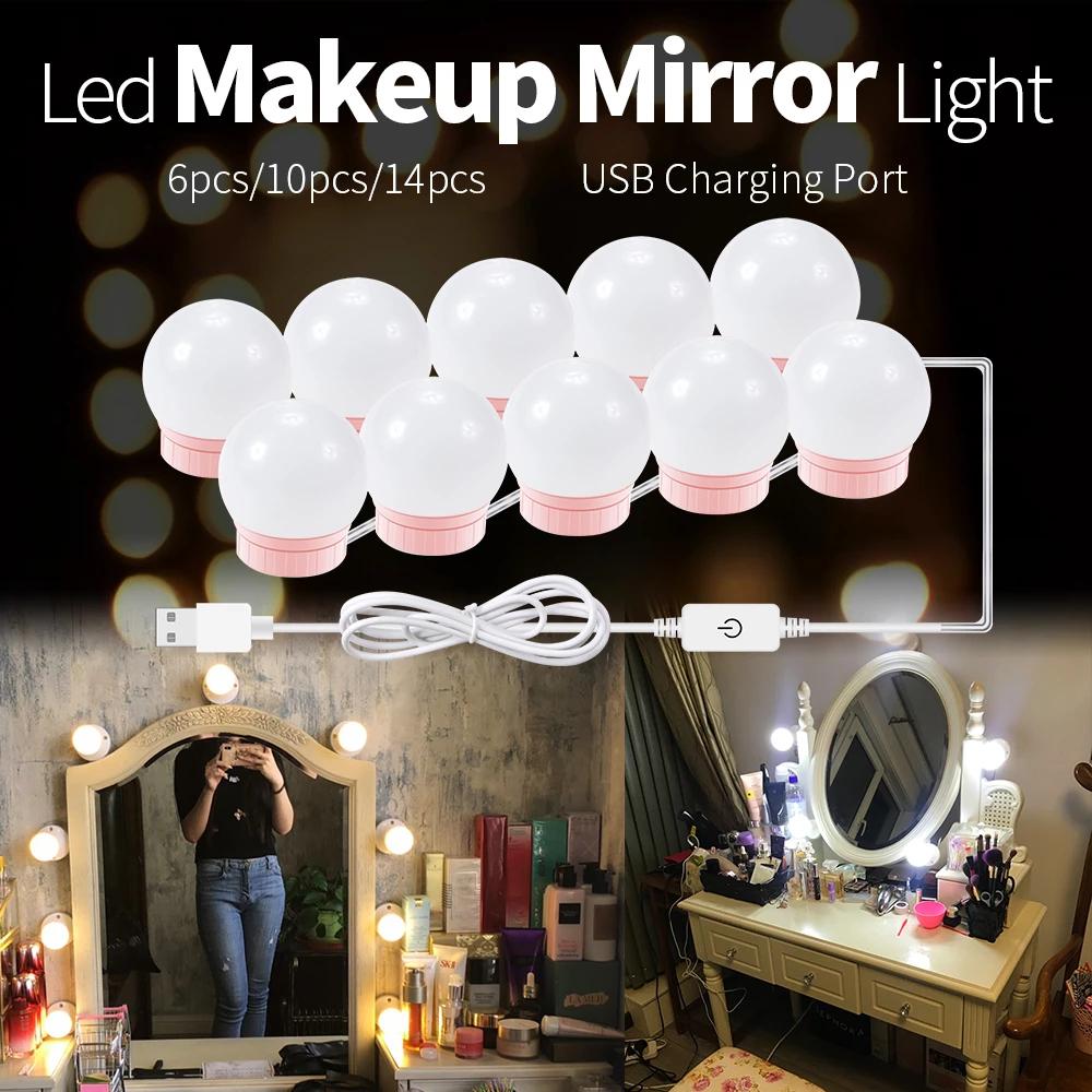 Makeup LED Lights -   14 makeup Light table ideas