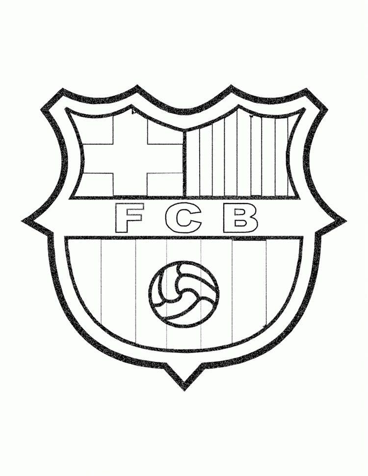 fc barcelona kleurplaat kleurplatenl