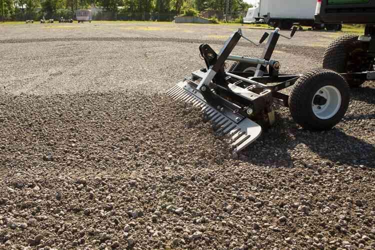 Atv Driveway Graders Gravel Rascal Abi Attachments Atv Compact Tractors Sub Compact Tractors