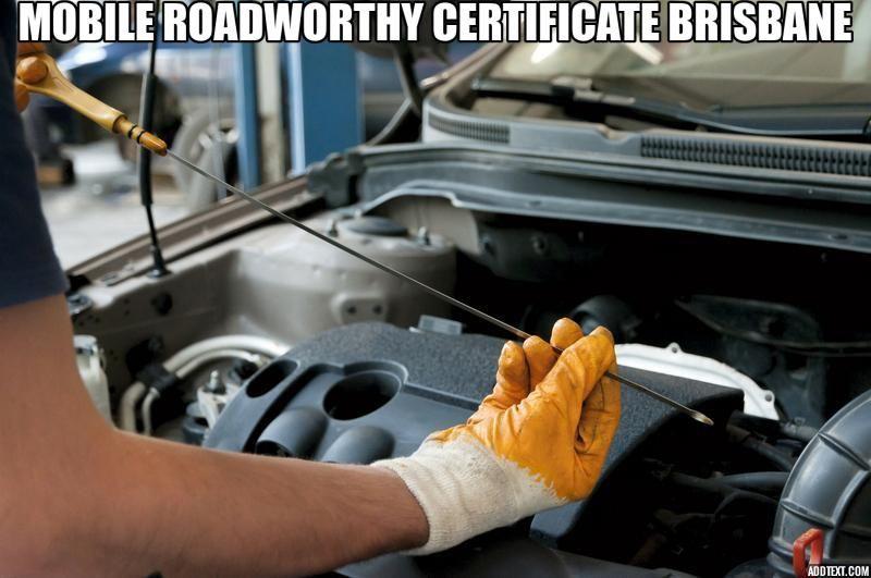 Mobile roadworthy certificate Brisbane Transmission