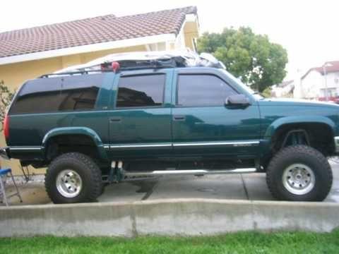 1998 Chevy Suburban Lifted Chevy Suburban Chevrolet Suburban