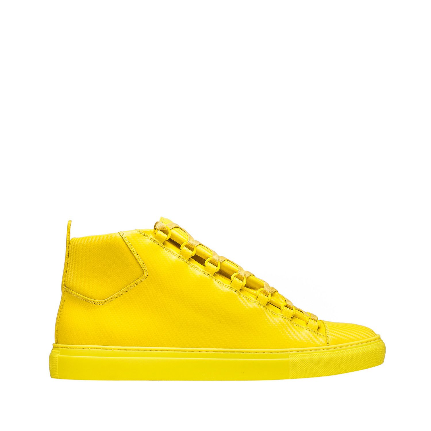 f81462535ed4 Balenciaga Arena Sneakers Men Yellow - Discover the latest collection and buy  online Men on the Official Online Store.