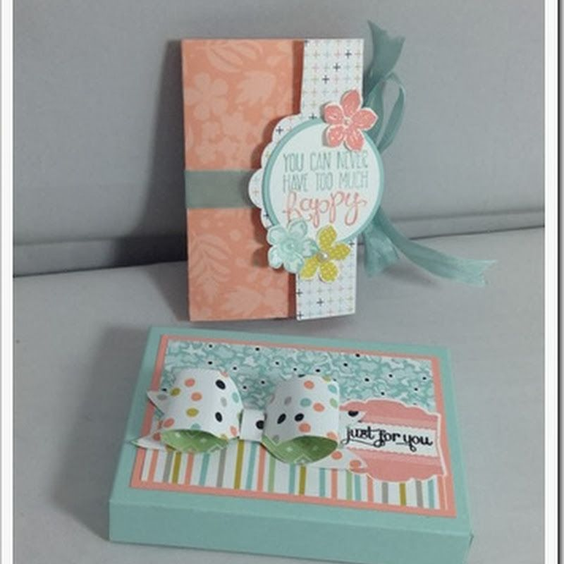 The Craft Spa - Stampin' Up! UK independent demonstrator : Another Tag Punch Concertina Card for a 40th Birthday–and 2 Tutorials….