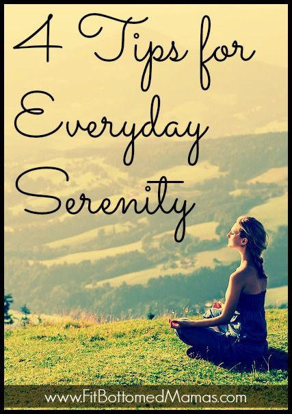 4 tips to get a little peace, everyday.