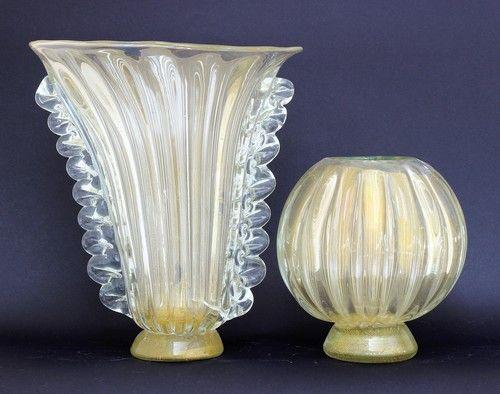 Classic Murano Vases Called Serenissima Heights Cm 3235 Cm