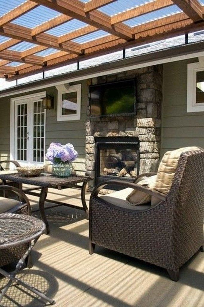 ✔37 cool patio deck design ideas for your backyard 32