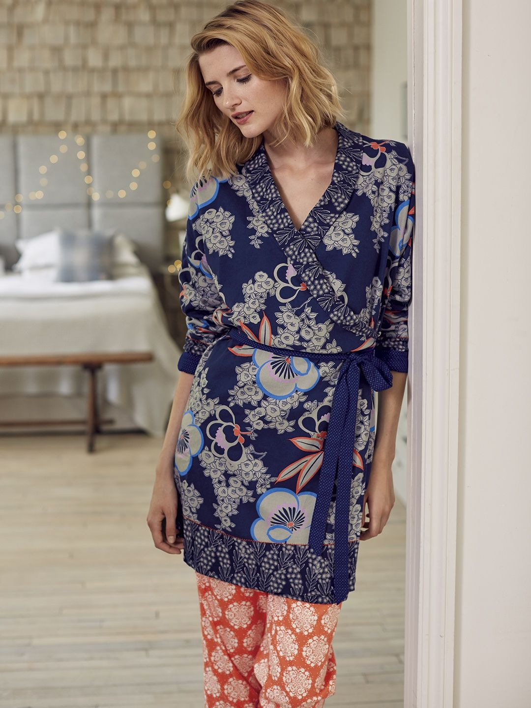 Blossom flower robe | robes & dressing gowns | White Stuff | My ...