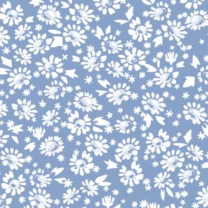 Hawthorne Threads - Daisies - Daisies in Cornflower