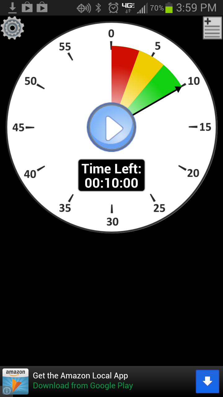 great visual timer app for helping kids who have difficulty with