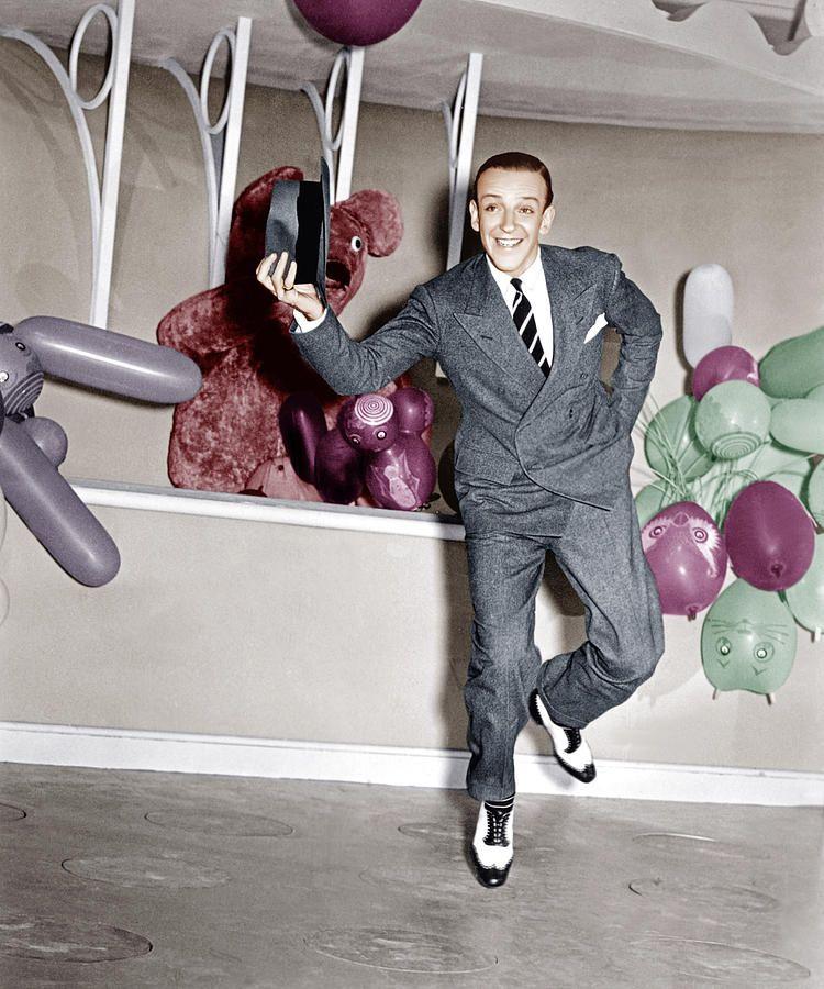 """Fred Astaire En """"Señorita En Desgracia"""" (A Damsel In"""