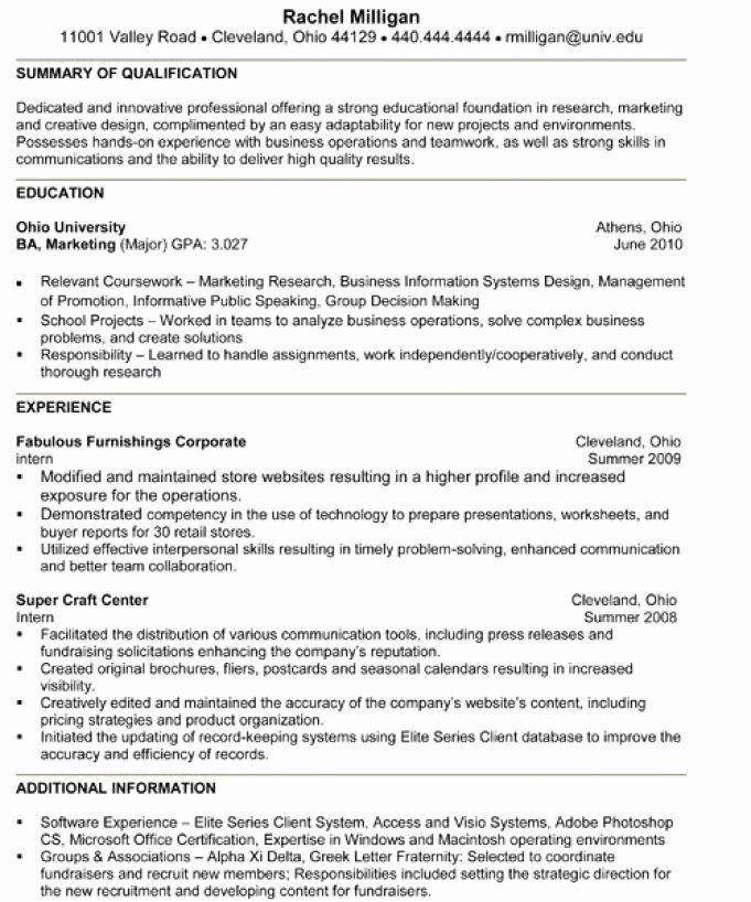 disney college program resume awesome 9 10 internship