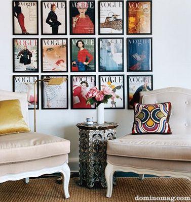 Vintage Vogue Decor ideas Pinterest Vintage vogue, Vintage and