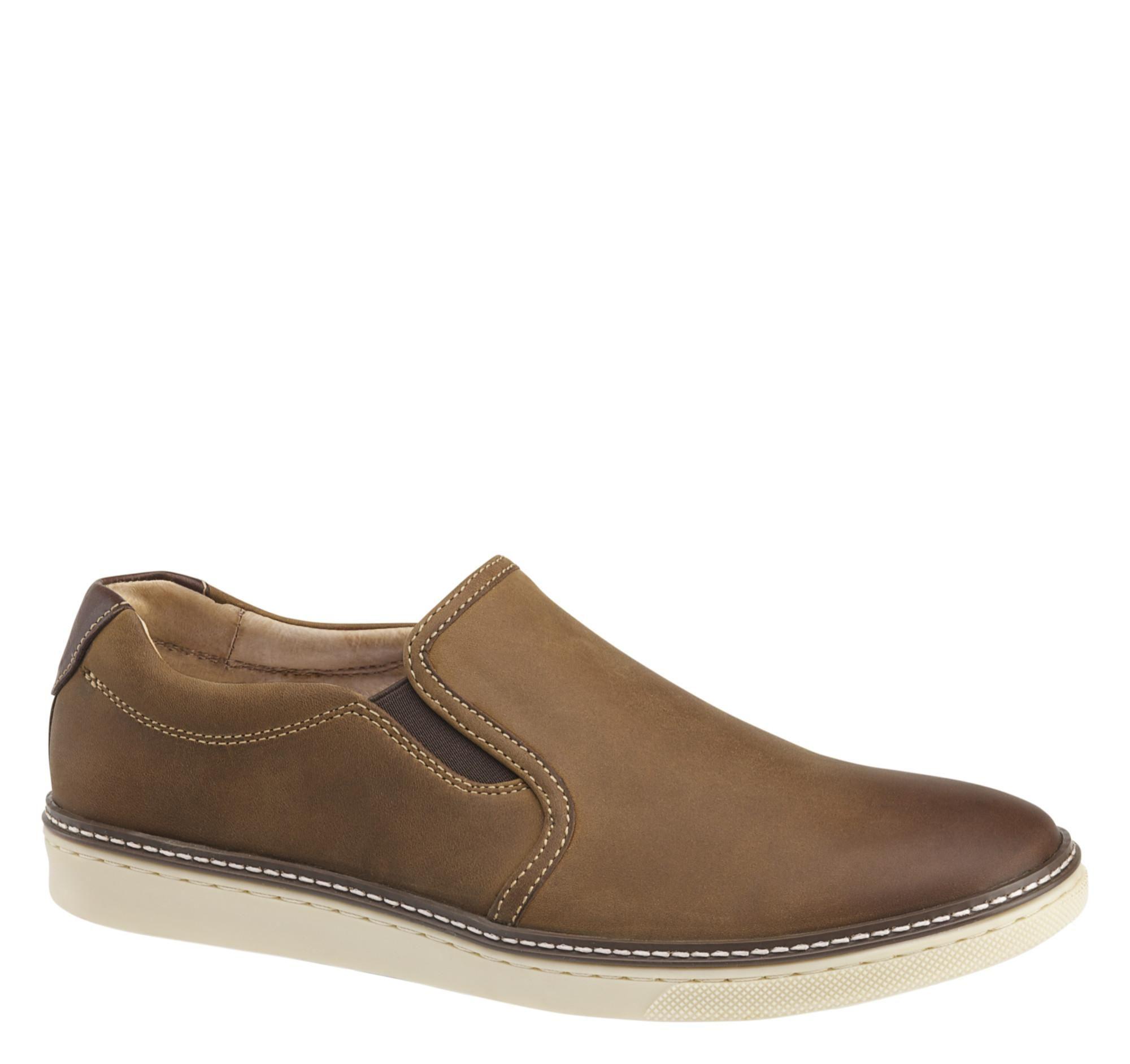 Johnston & Murphy Mcguffey Plain Toe Derby(Men's) -Brown Oiled Leather Cheap Amazon PznjIc5