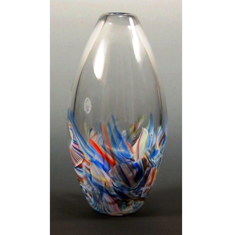 bud vase made of your broken wedding glass by mark rosenbaum - Broken Glass Vase