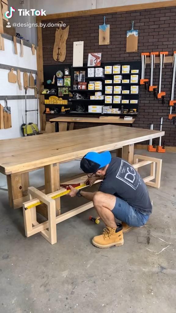 Geometric Bench build