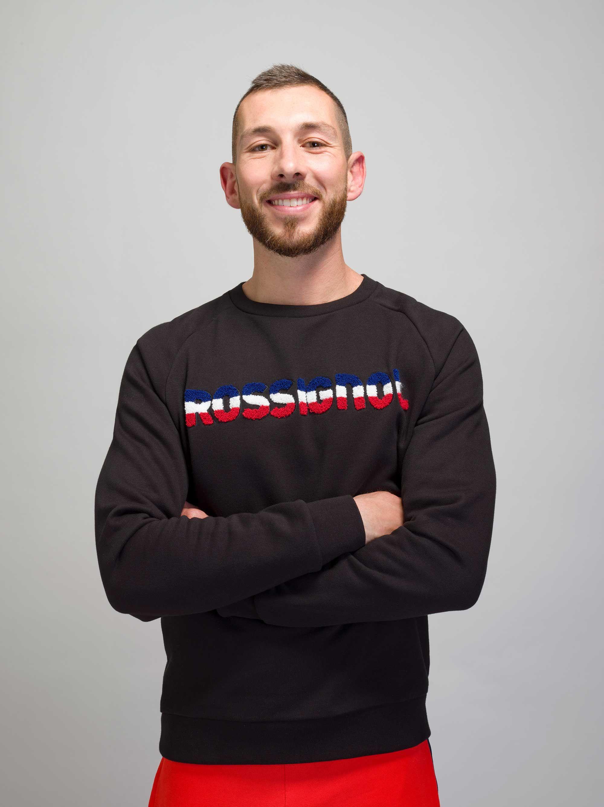 Rossignol Men Dossard Crew Neck Sweatshirt Sport Chic Homme Sport [ 2669 x 2000 Pixel ]