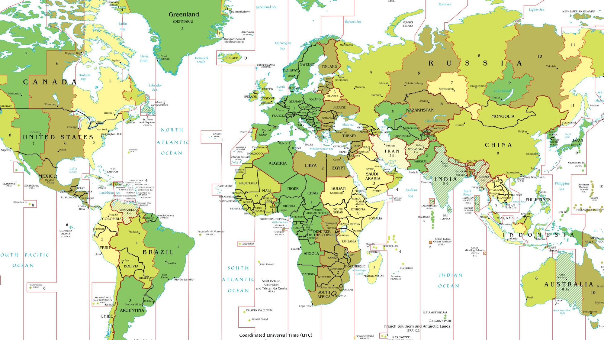 hight resolution of Time Zone Deviants