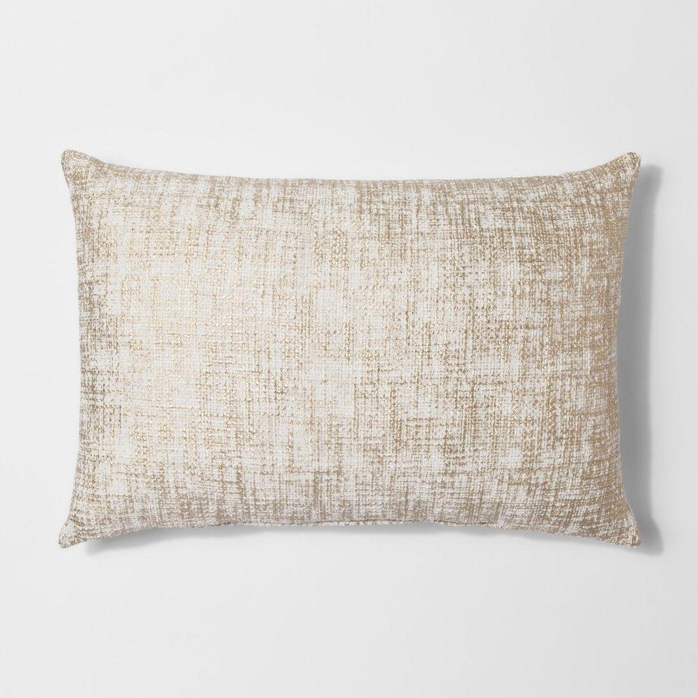 Marlton Round Coffee Table Threshold Gold Decorative Pillows