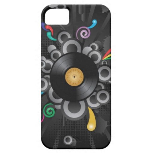 Retro Vinyl Disc iPhone 5 Case by supaspot