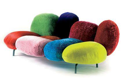 Multicolored Sofa