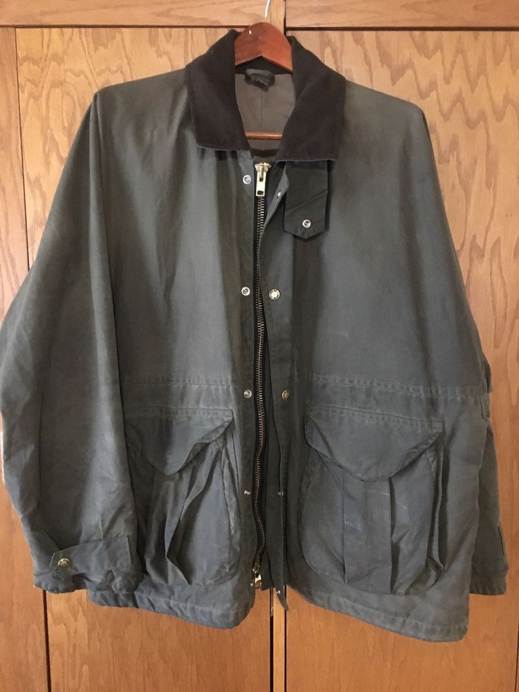 cb61cfb0d4563 FILSON Otter Green HUNTING Field Jacket Sz XL Style 1440N Accepts Zip Liner  #fashion #clothing #shoes #accessories #mensclothing #coatsjackets (ebay  link)