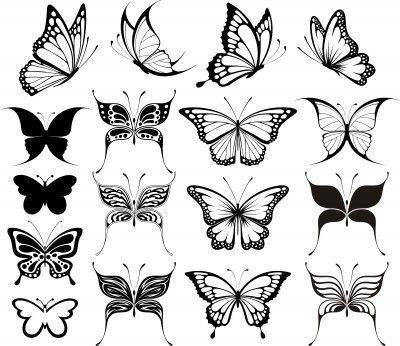 Vector Butterfly Tattoo Designs Vector Tattoos Butterfly Tattoo