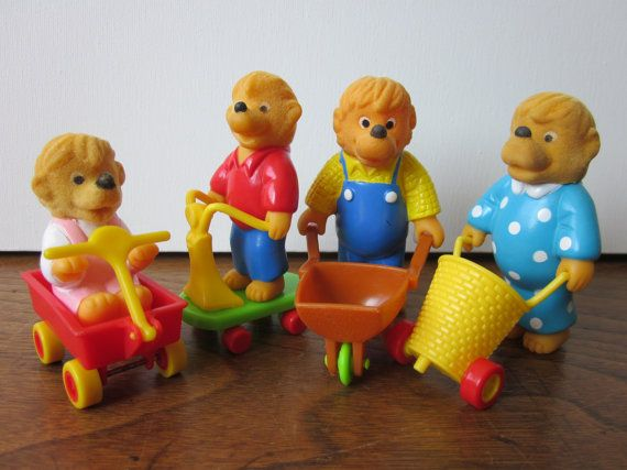 Berenstain Bears Figures Mcdonald S Set With Images Happy
