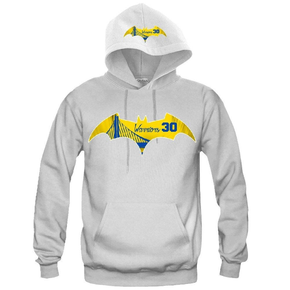 "Bat Golden State Warriors Hoodie ""2 Prints"" Sports Clothing"