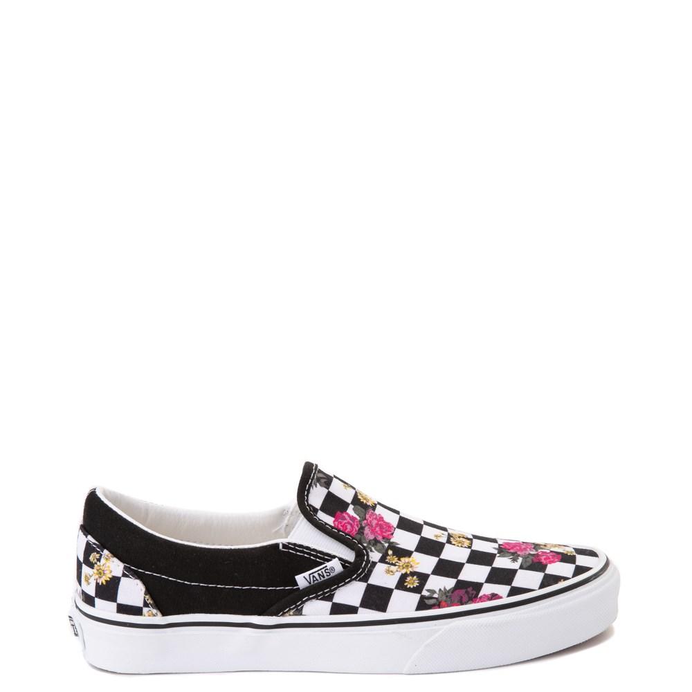 Vans slip on, Black shoes, Skate shoes