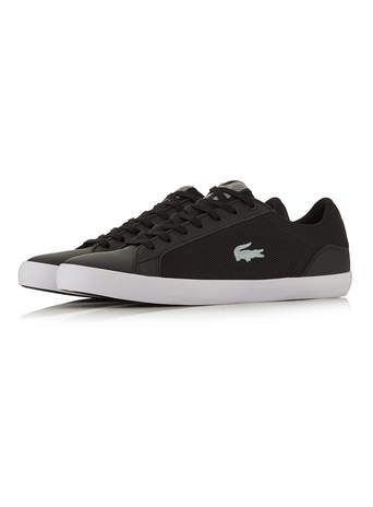 Lacoste Tennis Noires En Maille Filet Tout Afficher Chaussures Shoes And Accessories Basket Homme Sneakers Chaussure