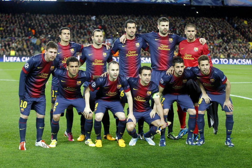 FC Barcelona Team 2014 .