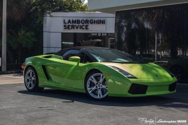 Cool Great 2008 Lamborghini Gallardo Spyder Convertible 2 Door 2008