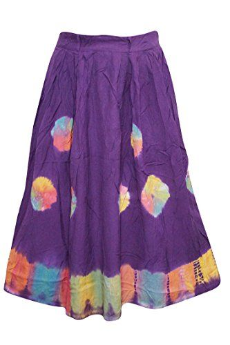 Bohemian Women's Skirt Purple Tie- Dye Gypsy Stylish Skir... http://www.amazon.com/dp/B01F5CT9I6/ref=cm_sw_r_pi_dp_5qEkxb0C713N0