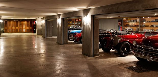 Climate Controlled Garage For Dad S Dream Machines