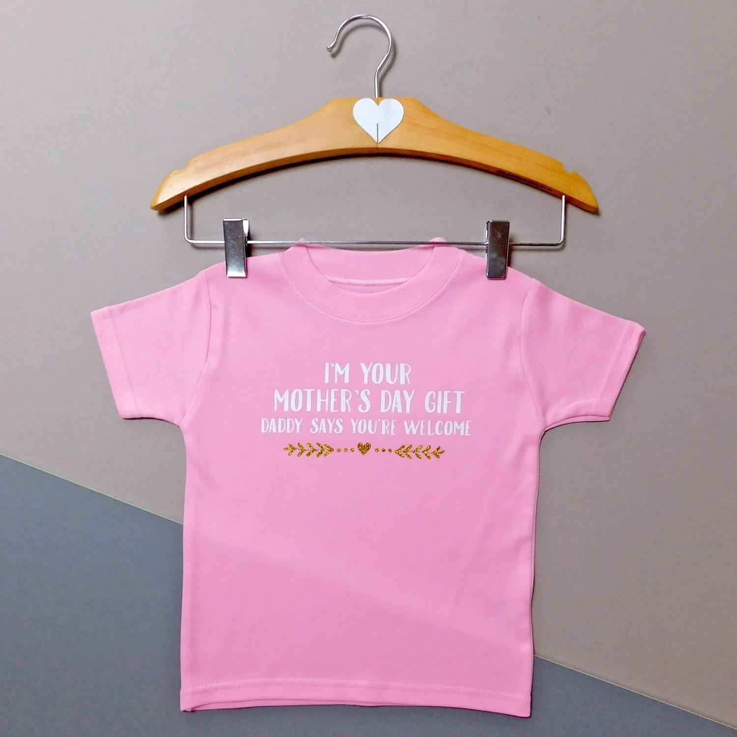 d31d67ec1 I'm Your Mother's Day Gift Cheeky Baby/ Child's T-Shirt, From Dad to Mum,  From Baby to Mum, From Child to Mum by AllihopaGifts on Etsy