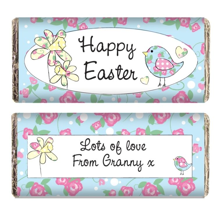 Personalised daffodil floral chick chocolate bar easter easter gift ideas personalised daffodil floral chick chocolate bar easter gift 499 negle Choice Image