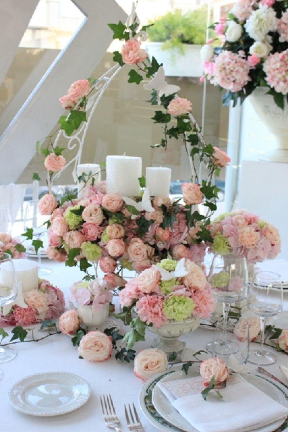 Idee Per Un Matrimonio Country Chic : Allestimenti floreali matrimonio idee e spunti per un romantico