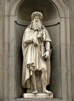 Leonardo Da Vinci Florencia Ilustraciones Famosas Esculturas De Arte Leonardo Da Vinci