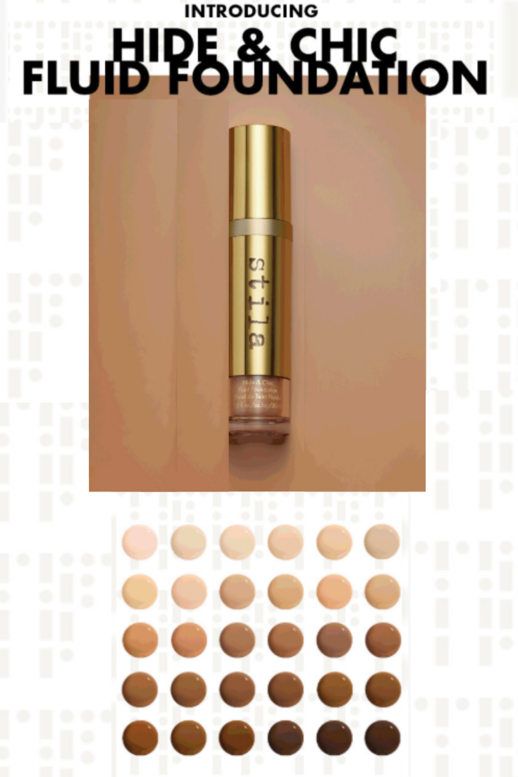 Stila's new best foundation has a magic elixir of plush
